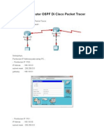 Konfigurasi Router OSPF Di Cisco Packet Tracer