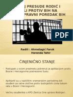 Utjecaj Presude Rodić i Ostali Protiv BiH Na