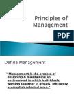 Principles of Management Sem 1 Slides
