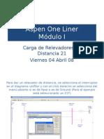Manejo Del Aspen One Liner 5a Sesion Viernes Reles 21