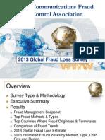 Global Fraud Loss Survey2013