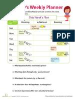Calendar Challenge Ashley Week