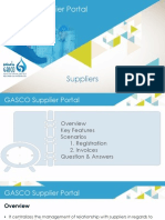 GSP Presentation Suppliers