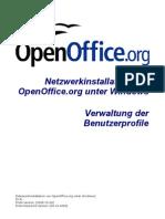 OpenOffice.org - Netzwerkinstallation unter Windows