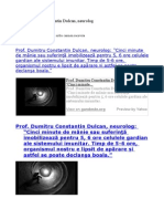Prof. Dumitru Constantin Dulcan, Neurolog