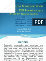 Sustainable Transportation System in DKI Jakarta
