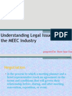CHAPTER 12 (Understanding Legal Issues in the MEEC Industry) Rose