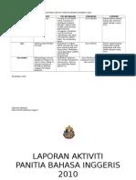 LAPORAN AKTIVITI PANITIA BAHASA INGGERIS 2010.doc