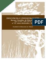 Revista docencia e investigación