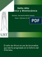 Salto Alto Texto Tecnico y Biomecanico PDF