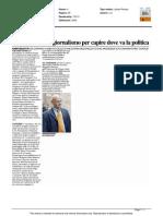Grandi nomi del giornalismo per capire dove va la politica - Il Resto del Carlino del 2 settembre 2015