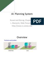 Artificial Intelegent (Planning)