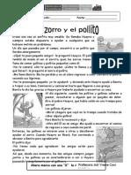 CUENTO EL ZORRO Y EL POLLITO.docx