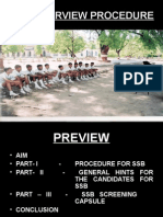 SSB INTERVIEW PROCEDURE-17.ppt