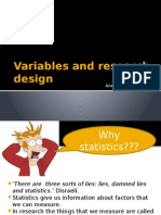 1. Variables and Research Design