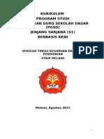 KURIKULUM PGSD KKNI baru revisi baru.docx