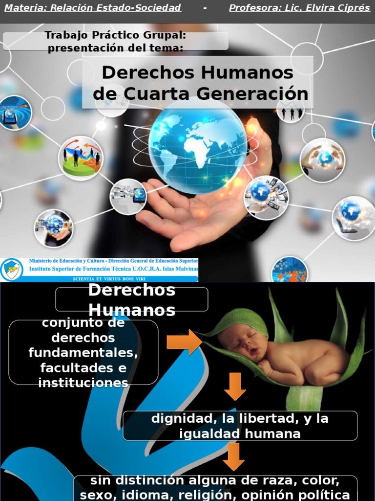 Derechos Humanos de cuarta generación