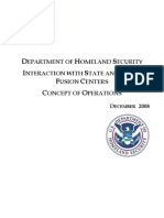 DHS Interaction With State and Local Fusion Centers