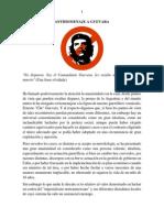 Antihomenaje a Che Guevara