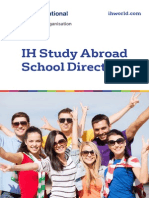 International House Study Abroad Directory 2015-2016