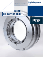 CobaSeal Gas-lubricated Oil Barrier Seal