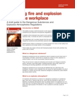 Controlling Fire and Explosion Risks in the Workplace