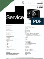 Philips N4510 Taperecorder
