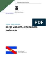 Jorge Zabalza El Tupamaro