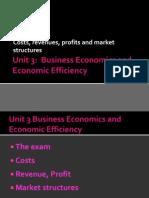 Unit 3 Costs Revenues Revision