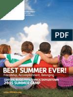 Camp Brochure Booklet