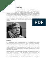 Stephen Hawking Biografíaa