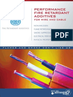 Performance Fire Retardant Additives for Wire and Cable