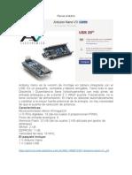 Placas Arduinoa