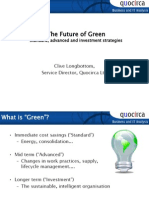 The Future of GreenGreen may have drop