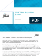 Jibe Recruitment Survey - NewsWorthy Analysis Final