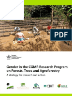 CGIAR Research Program on Forests, Trees and Agroforestry - Gender Strategy
