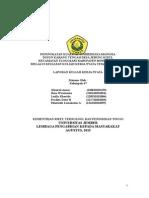 Laporan Akhir Kelompok 47 Dusun Karang Tengah Desa Jebung Kidul