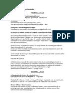 RESUMO Psicanalise Do Livro S 5 LIÇOES Da Psicanalise IMPRIMIR