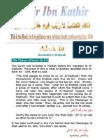 Tafsir ibn Kathir - 087 Ala