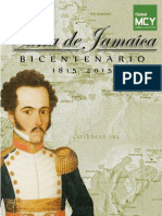 Encarte Carta de Jamaica