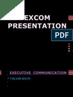 Excom Presentation