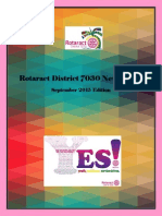 District Newsletter September 2015 (English)