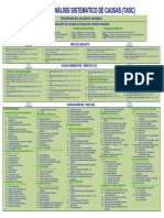 DNV Tabla de Analisis Sistematico de Causas