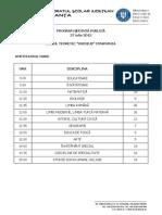 Program Sedinta Publica 27.07.2015