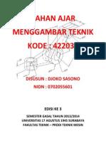 Materi Menggambar Teknik Tm Bsi 20151