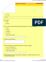 Romantic Comedy Survey