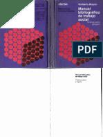 Manual Bibliográfico de Trabajo Social