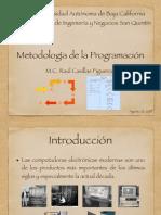 Unidad 1 Metodologia de la Programacion