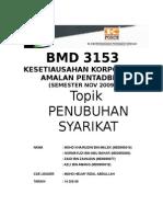 Prosedur Untuk Menubuhkan Sebuah Syarikat Persendirian Di Malaysia