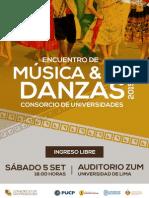 Encuentro de Musica y Danzas 2015 A5
